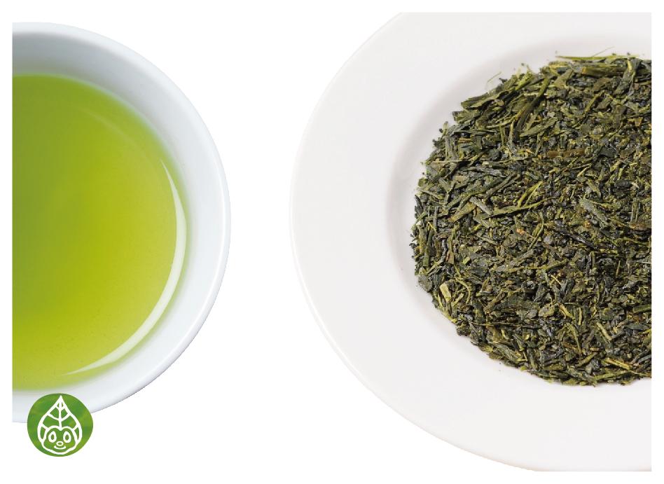 オーガニック緑茶の茶葉