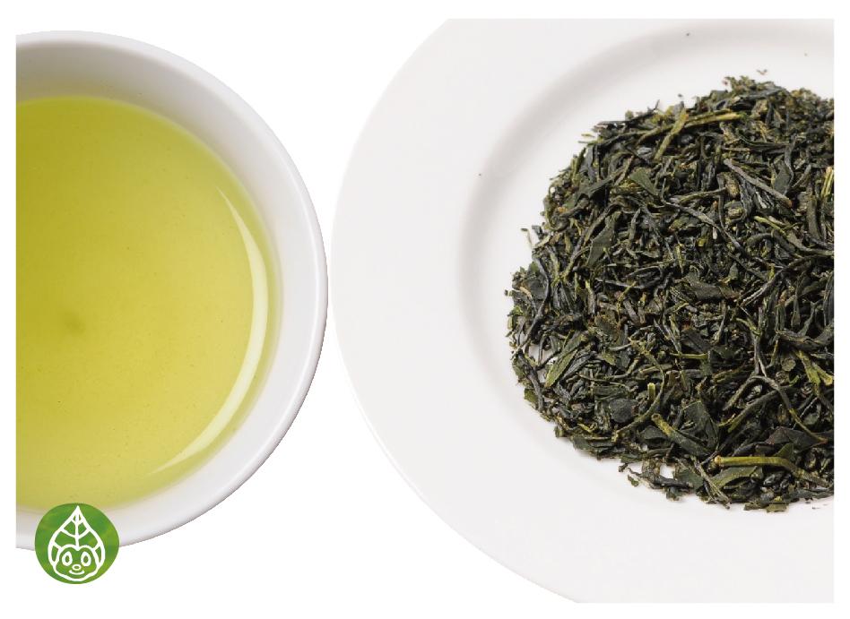 ぐり茶の茶葉